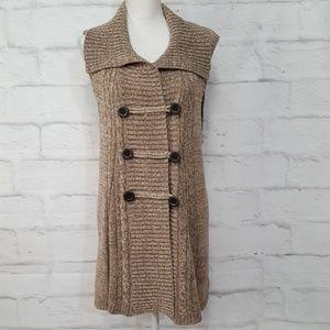 3/$30 Style & Co Sleeveless Long Cardigan Sweater